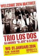 Welcome 2014 party Salsa Sunday Matinee op Perron 3a