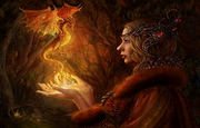 Fire dragon witch211