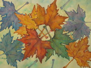 leafs of  autumn