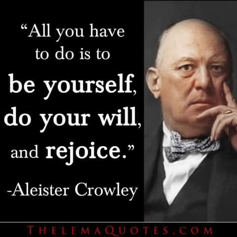 "Aleister ""The Beast"" Crowley"