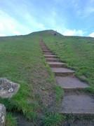 Steps to Glasbury Tor