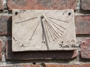 Rustic Sundial