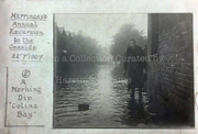 Flooding in Colina Road, 1907