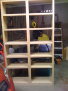 7 foot Bookshelf