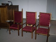 All three  chairs together