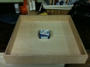 """100ct box of 1"""" kreg screws for size reference"""
