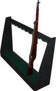 Ten Place Rifle Rack