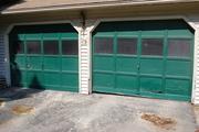 The original garage doors