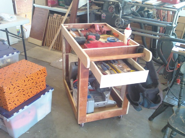 Mobile Shop Cart