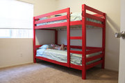 Easy to Build (and Unbuild) Bunk Beds