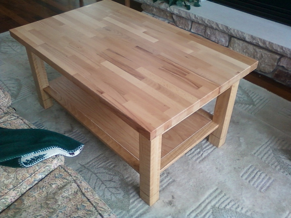Coffee Table Oak (2)