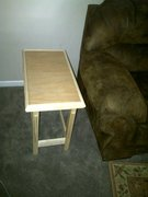 Side table with Tile Top