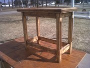 Accent Table Almost done