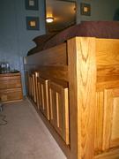 Platform storage bed 10