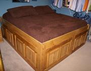 Platform storage bed 13