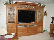 Completed Entertainment Center