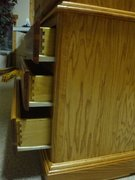 Dresser Drawers Dovetailed