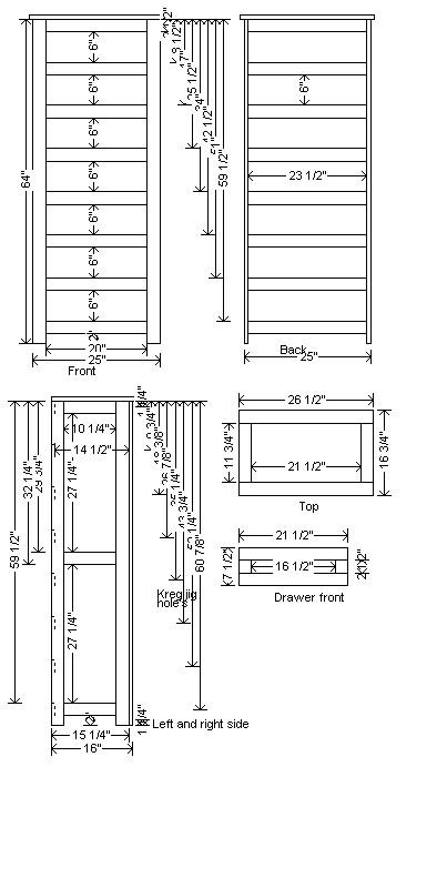 7drawer dresser