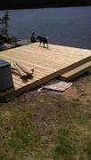 Deck under construction
