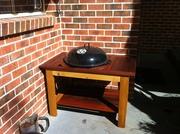 Weber BBQ Table