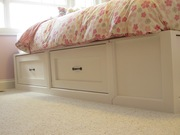 Side Drawers--twin storage bed