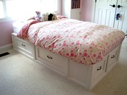 Storage Bed with drawers