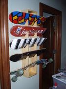 Custome Crafted Skateboard Display Rack w/boards