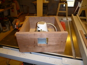 Recessed light fixture for a 2x4 roof
