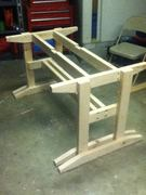 Trestle Style Picnic Bench 2