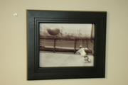 Black Hardwood Frame
