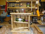 Pallett wine rack.