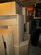 Boxes piling up...