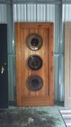 Reclaimed Long Leaf Pine Door