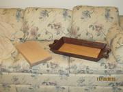 Walnut Tray and Maple Cutting Board