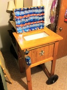 Father-in-laws Cooler all reclaimed or recycled material
