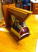 1957 Chevy Tail Fin Clock for dad