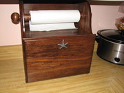 Bread Box and Paper Towel Holder