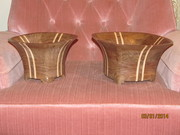 Walnut and Maple Bowls 2