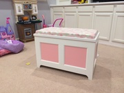 Toy box for my daughter