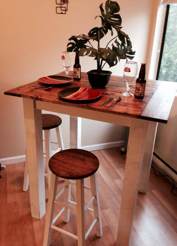 Custom-Built Table