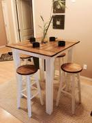 condo table and stools
