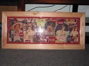 Coca-Cola Girls Puzzle Framed
