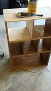 Kitchen Case Ready for Stain