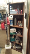 Furnace Room Shelves