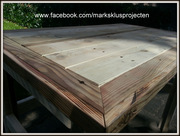 Small Desk made of reclaimed wood