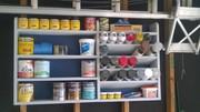 Shelf to Store Finishing Supplies