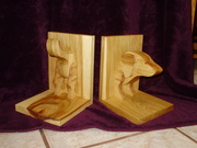 Dachshund Book Ends