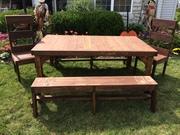 Cedar Dining Set