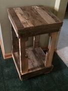 Repurposed Wood Night Stand