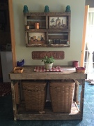 Laundry Basket Table